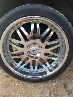 "24"" Asanti 6 lug chevy for Sale in Mansfield, TX"