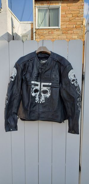 New Icon Skull Motorcycle Jacket - Size 2XL for Sale in Washington, DC