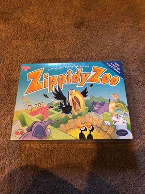 Zippidy zoo children's board game for Sale in Seattle, WA
