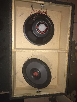 "2-12""Fosgate Speakers with Box for Sale in Escondido, CA"
