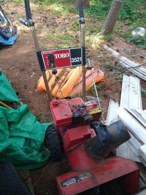 Snow blower and mower 100 for Sale in Kaleva, MI