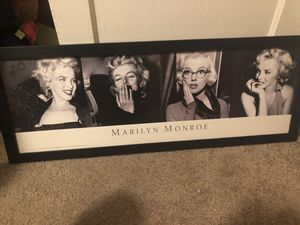 Marylin Monroe canvas for Sale in Catonsville, MD