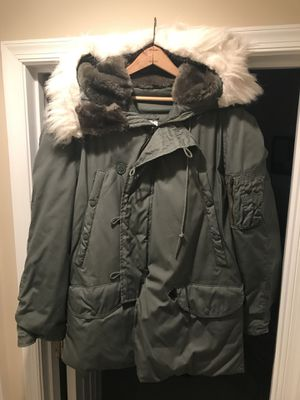 Air Force Arctic Parka, two available size medium and large. $120 each or best reasonable offer. for Sale in Woodbridge, VA