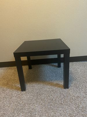 Black End/coffee table for Sale in Aurora, CO