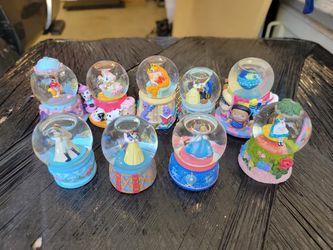 Disney Miniature Snow Globes  for Sale in Alta Loma, CA