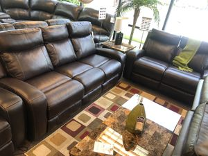 GREAT POWER RECLINING SOFA AND LOVESEAT SET for Sale in Portland, OR