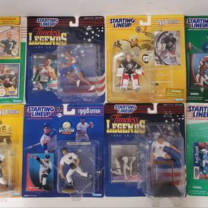 Lot of 8 Starting Lineup Action Figures for Sale in Duluth, GA