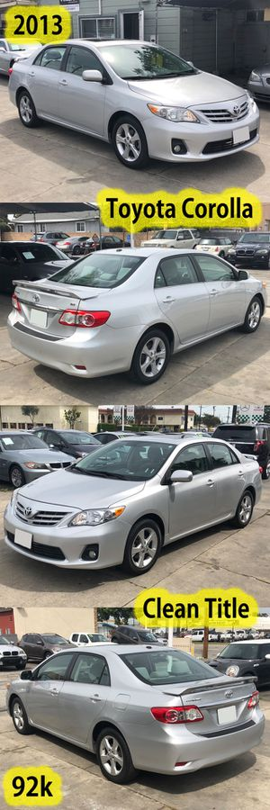 2013 Toyota Corolla for Sale in Downey, CA