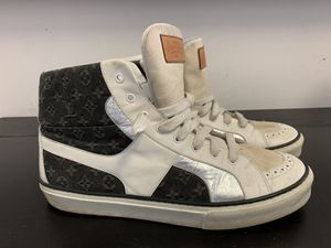 Louis Vuitton MultiColor Denim Monogram High Top - NEGOTIABLE for Sale in Bronx, NY
