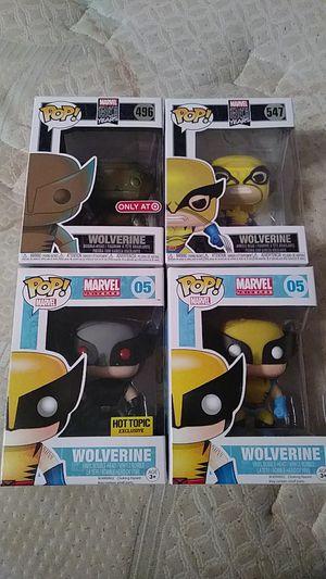 Funko Pops Wolverines for Sale in Chula Vista, CA