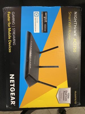 Netgear nighthawk ac1750 r6700.new router. Open box. Tested working. No connection issues. for Sale in Los Angeles, CA