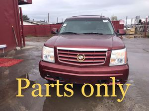 2002 Cadillac Escalade6.0 AWD parts only for Sale in Phoenix, AZ