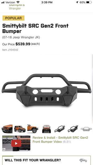 Jeep winch bumper for Sale in Brunswick, OH