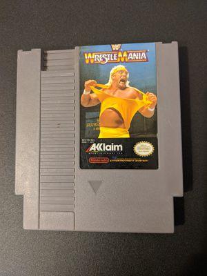 WWF WrestleMania NES for Sale in Peoria, AZ