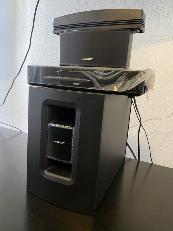 Bose soundtouch TV home theater speaker