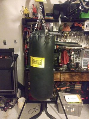 Everlast 50lb bag and speed bag combo for Sale in Spring, TX