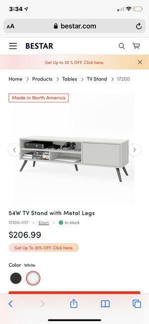 "54"" tv stand!! Brand new! Never opened or used. for Sale in Seattle, WA"
