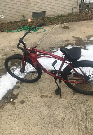 Red Huffy Cruiser bike for Sale in Warren, MI