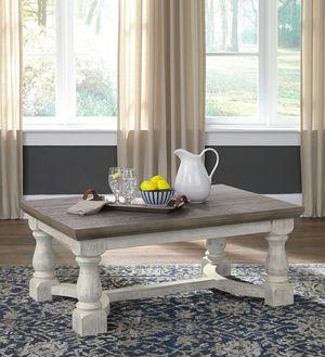 Ashley Furniture Gray/White Coffee Table for Sale in Garden Grove, CA