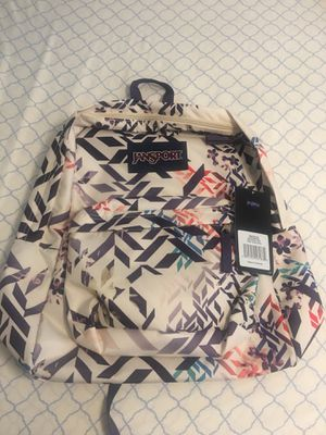 JANSPORT BOTANICAL GEO BACKPACK NWT for Sale in Plant City, FL