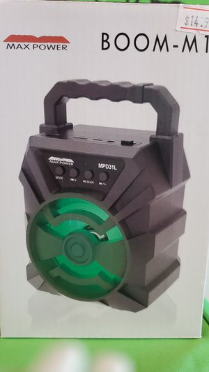 MP BOOM- M1 portable bluetooth speaker for Sale in Oshkosh, WI