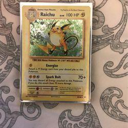 Raichu XY Evolutions for Sale in San Lorenzo,  CA