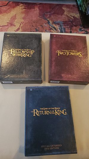 Lord of the Rings trilogy DVD set for Sale in Washington, DC