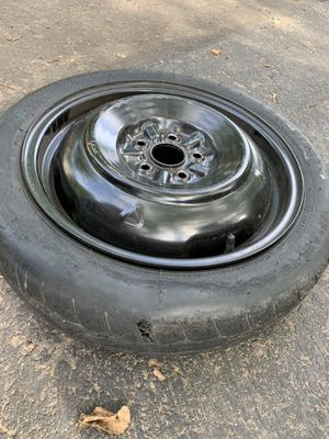 Toyota Corolla 2003 spare tire and rim (tire is flat) for Sale in Fairfax, VA