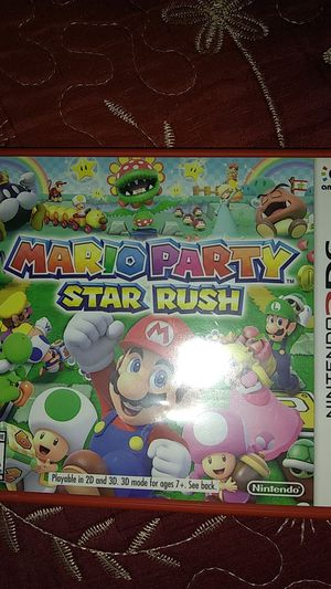 Mario Party Star Rush for 3DS for Sale in Colton, CA