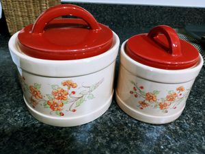 2 kitchen cannisters for Sale in Ellington, CT