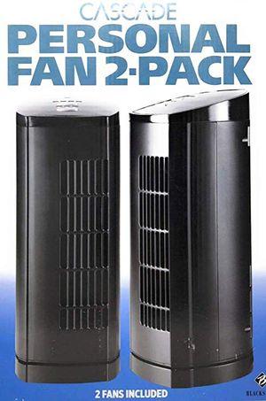 Cascade 33 cm (13 in.) Personal Fan, 2-pack for Sale in Pompano Beach, FL