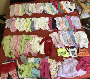 Newborn baby girl clothes for Sale in Beaverton, OR