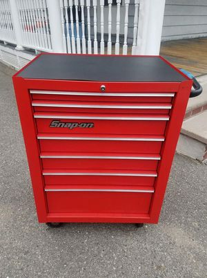 snap on 7 drawer tool refurbished for $550.00 dollars but the price is negotiable. for Sale in Boston, MA