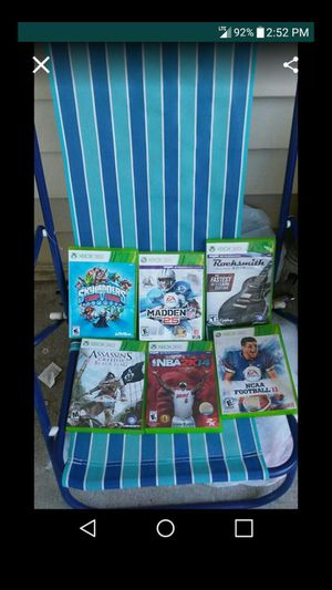 12 Xbox360 Games for Sale in Nashville, TN