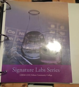 Chemistry II Lab Book for Sale in Fort Myers, FL