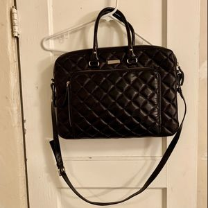 Kate Spade Black Quilted Laptop Bag for Sale in Tempe, AZ