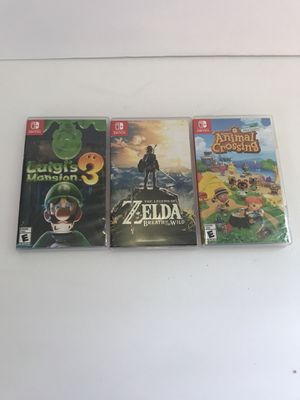 Switch game bundle for Sale in North Ridgeville, OH