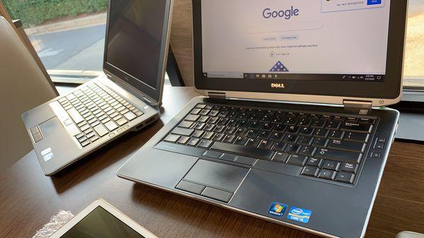 Dell CPU: Intel Core i5 Labtop