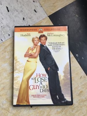 How to Lose a Guy in 10 Days DVD for Sale in Portland, OR