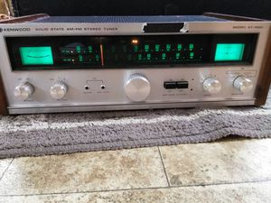 Old school Kenwood stereo receiver for Sale in Seattle, WA