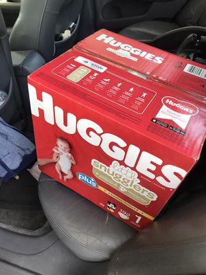 Huggies plus size 1 for Sale in Oceanside, CA