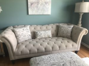 Never used ottoman and sofa for Sale in Dublin, OH