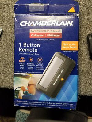 Chamberlain garage door remote brand New... for Sale in Phoenix, AZ