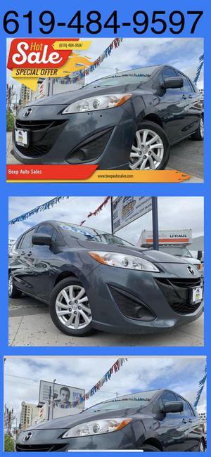 2012 Mazda 5 MiniVan we Finance Aqui financeamos for Sale in National City, CA