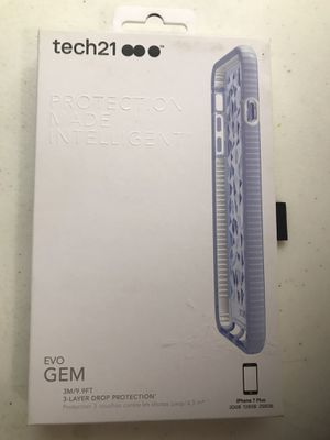 Tech21 protection made intelligent evo GEM.for iPhone 7 Plus.(new) for Sale in Taylorsville, UT