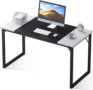 """47"""" Study Writing Table with Splice Board White and Black Home Office Furniture for Sale in Los Angeles, CA"""