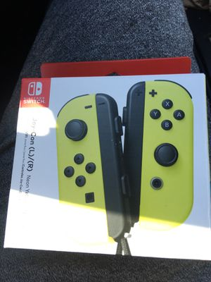 Brand New Nintendo switch joy cons for Sale in Dallas, TX