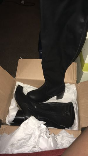 Black High Thigh Boots for Sale in Chester, PA