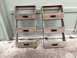 Wooden mail organizer/ magazine racks for Sale in Lacey, WA