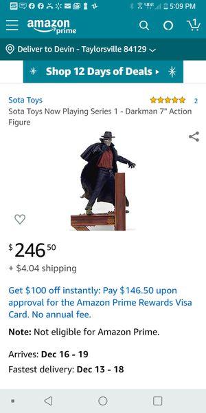 Unopened darkman Amazon got it at 240 for Sale in West Jordan, UT